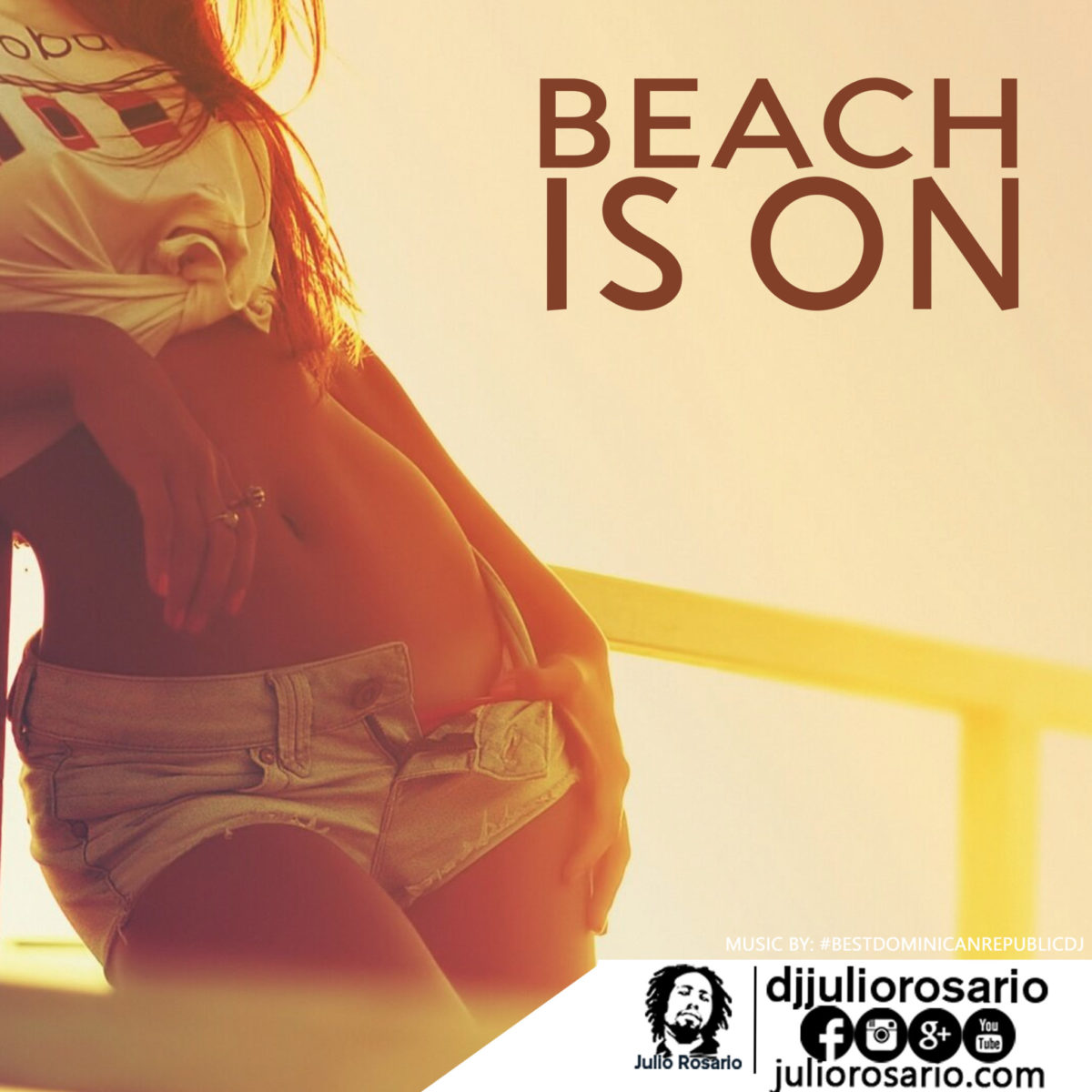 Beach is on, deep, deephouse mix Best Dominican Republic dj