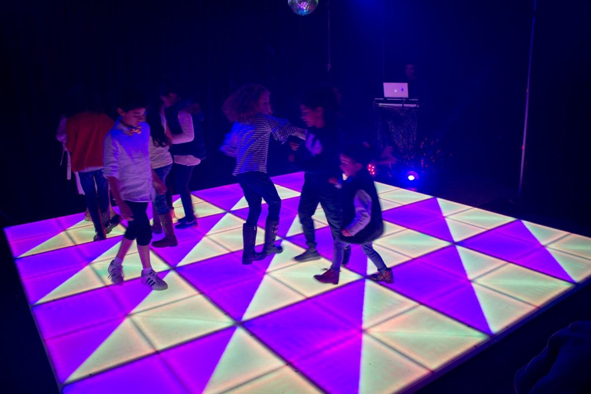 Led Dance Floor Standard Size 4x4 Dj Julio Rosario