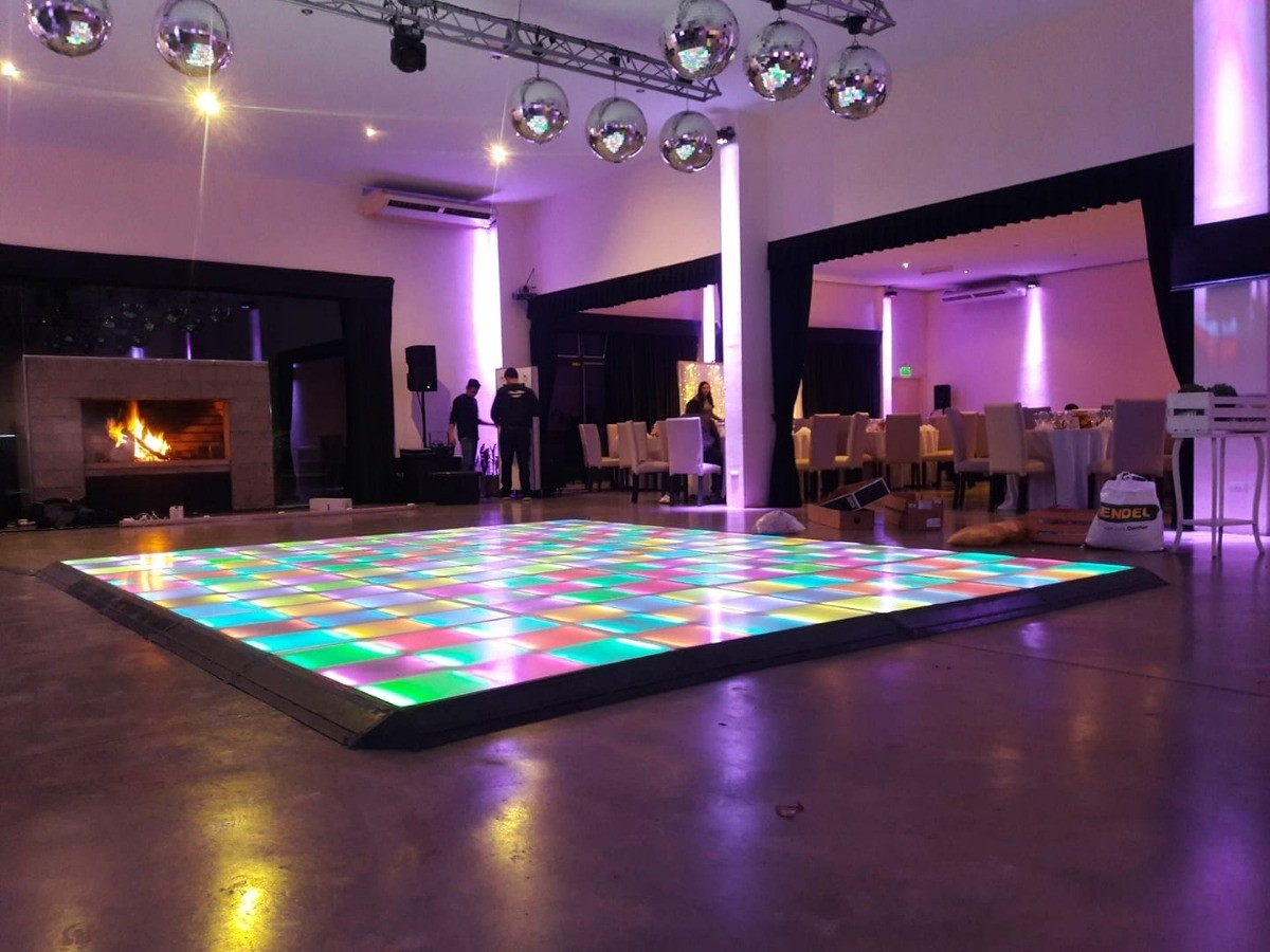 Led Dance Floor Standard Size 4x4 Dj Julio Rosario